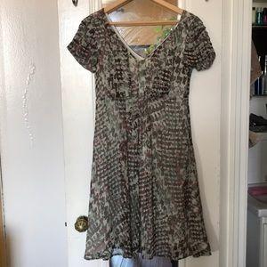 BCBG summer silk dress